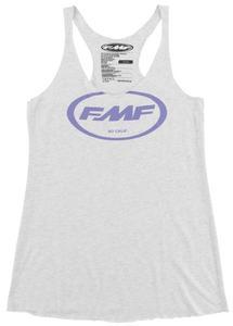 FMF Racing SFD Womens Tank Top (White, Large)