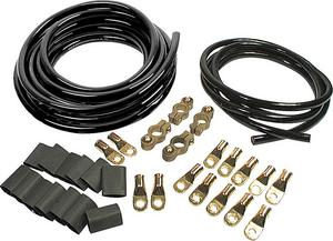 Allstar Performance 2 Gauge Black/Black Dual Battery Cable Kit P/N 76113