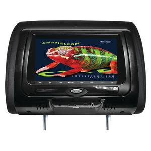 Concept 7 inch Chameleon Headrest Monitor With HD Input and Built-In Dvd Player