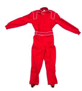 Crow Enterprises Youth Small Red Single Layer 1 Piece Driving Suit P/N 24062