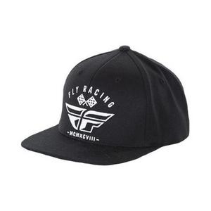 Fly Racing Revel Hat Black/White (Black, Small - Medium)