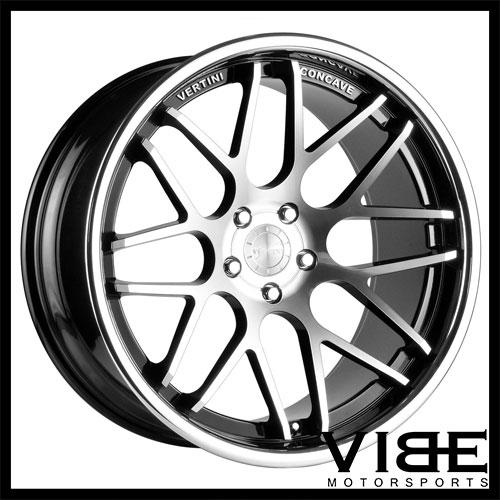 20 Vertini Magic Machined Concave Staggered Wheels Rims Fits Bmw