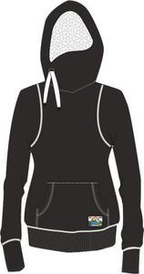 DSG Side Tie Hoodie Heather Black (Black, X-Small)