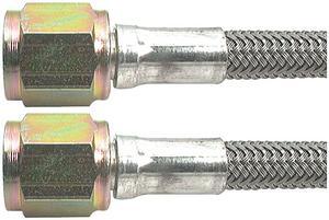 ALLSTAR PERFORMANCE 36 in 4 AN Braided Brake Hose 5 pc P/N 46400-36-5