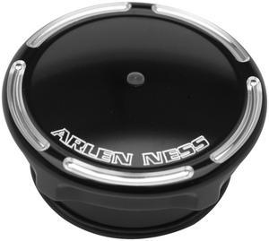 Arlen Ness 70-304 Gas Cap - Slot Track - L.E.D. Gauge - Black
