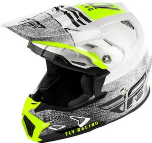 Fly Racing Toxin MIPS Embargo Youth Helmet White/Black (White, Medium)