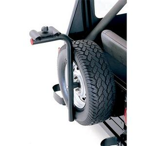 Rugged Ridge 11237.10 Lockable Spare Tire Mount Bike Carrier