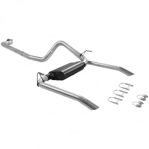 Flowmaster 17143 American Thunder Cat Back Exhaust System Fits Camaro Firebird