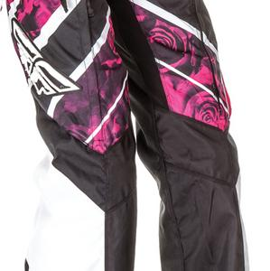 Fly Racing Kinetic Over Boot Womens Pants Pink/White (Pink, 11/12)