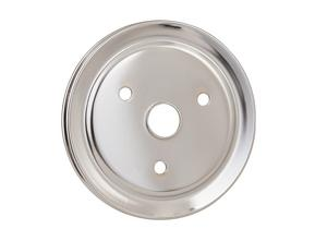 Mr. Gasket 4972 Chrome Plated Steel Crankshaft Pulley