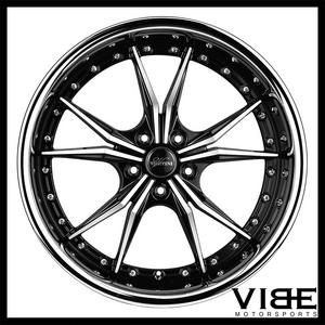 vibe motorsports store on motoroso 67396 products at great prices Ford Fender Skirts 1941 20 vertini dark knight machined wheels rims fits bmw e92 e93 m3 coupe