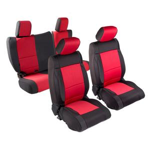 Head Rest Cover; Fia SP89-38BLACK Seat Protector Custom Seat Cover; Poly-Cotton; Black; Front; Split Seat 40//20//40; Adj Headrests; Airbag; Armrest//Storage w//Cup Holder; Cushion Storage; Incl