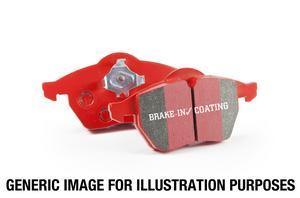 EBC Brakes DP32127C EBC Redstuff Ceramic Low Dust Brake Pads