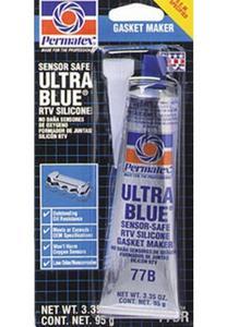 Permatex 81724 Ultra-Blue RTV Silicone Gasket Maker - 3.35oz. Tube