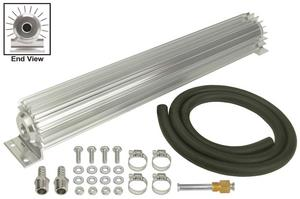 DERALE 20-1/4 x 2-3/16 x 3-1/4 in Automatic Trans Fluid Cooler Kit P/N 13255