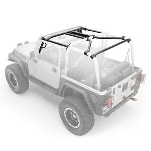 Smittybilt 76900 SRC Cage Kit 97-06 Wrangler (LJ) (TJ) 7 pc. Gloss Black
