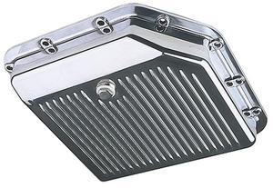 Trans-Dapt Performance TH-350 Aluminum Transmission Pan -Stock Depth