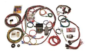 Painless Wiring 20121 22 Circuit Direct Fit Mustang Chassis Harness Fits Mustang