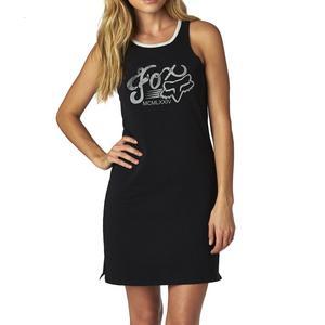 Fox Transitory Womens Muscle Dress (Black, X-Small)