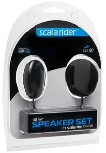 Scala Cardo 40mm Speaker Set for Qz/Q1/Q3/G9x/PACKTALK/SMARTPACK SPAU0002