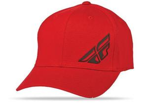 Fly Racing F-Wing Hat (Red, Small - Medium)