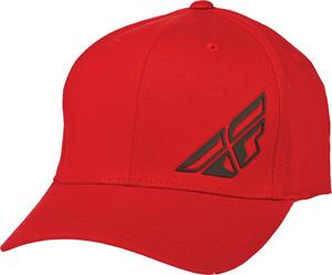 Fly Racing 2015 ADULT F-Wing Hat Red L-XL
