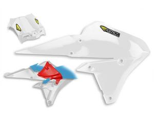Cycra 1CYC-1778-42 Powerflow Intake Radiator Shrouds - White