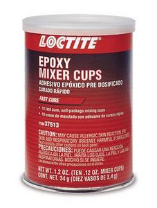 Loctite General Purpose 2 Part Epoxy 10 0.12 oz Mixer Cups P/N 37513
