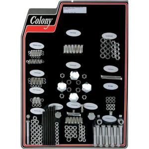 Colony 8301 CAD Complete Stock Hardware Kit - Cadmium