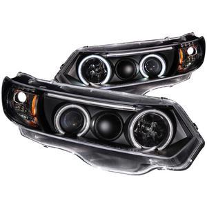 Anzo USA 121062 Projector Headlight Set w/Halo Fits 06-11 Civic