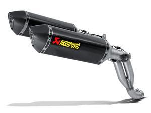 Akrapovic Slip-On Series Muffler Carbon/Titanium S-T10SO1-HRC