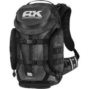 American Kargo 3517-0407 Trooper Backpack - Reflective Black
