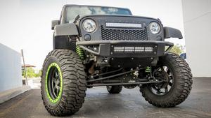 Addictive Desert Designs F952001250103 Venom Front Bumper Fits Wrangler (JK)