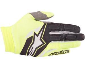 Alpinestars Aviator Gloves Yellow Fluo/Black (Yellow, Medium)