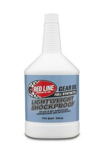Redline Oil Lightweight Shock Proof Gear Lube 75W140 1 qt P/N 58404