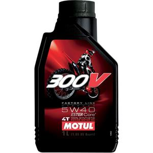 Motul 104112 300V Synthetic Motor Oil - 5W40 - 1L.
