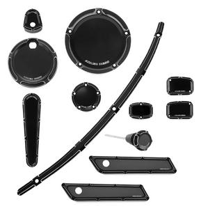 Arlen Ness 91-101 Beveled Accessory Package - Black
