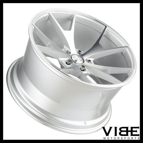 20 Concept One Csm5 Silver Concave Wheels Rims Fits Bmw E60 525 528