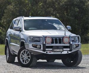 ARB 4x4 Accessories 3450420 Deluxe Winch Bar Fits 14-16 Grand Cherokee