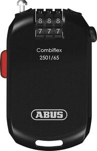 Abus 72499 Combiflex 2501 Lock - 1.6mm x 65cm Cable