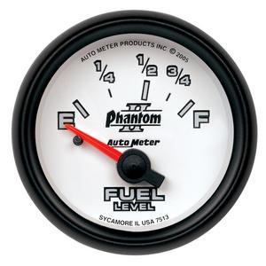 AutoMeter 7515 Phantom II Electric Fuel Level Gauge