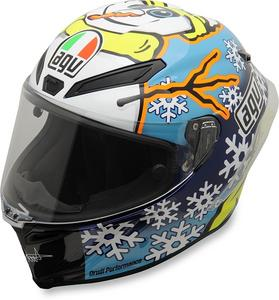 AGV Adult Motorcycle Helmet LTD Winter Snowman S