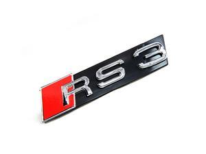 AUDI RS3 FRONT GRILLE EMBLEM BADGE