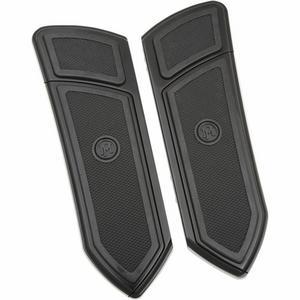Performance Machine 0036-1008-BM F.T.Z. Floorboards - Driver - Black