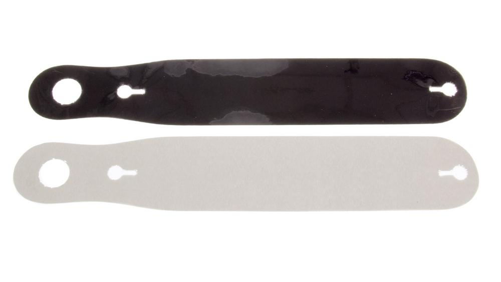 ULTRA SHIELD Smoked Straight Simpson/Aria Helmet Shield Tear Off 5 pc P/N S01