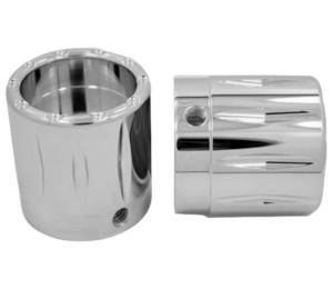 Avon Grips AXL-RIV-CH Rival Axle Nut Covers - 1in. - Chrome