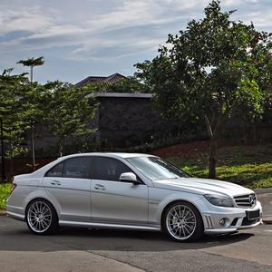 "19"" HRE FF15 FLOW FORM SILVER CONCAVE WHEELS RIMS FITS BENZ W205 C250 C300 C350"