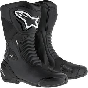 Alpinestars SMX S Boots Black/Black (Black, 9)