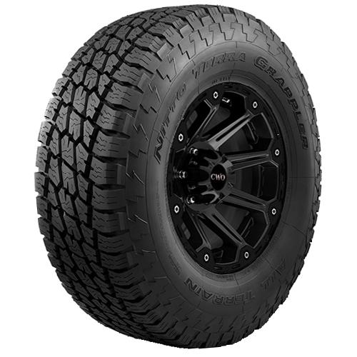 2-LT285/75R16 Nitto Terra Grappler AT 126Q E/10 Ply BSW Tires