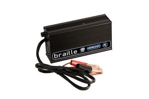 BRAILLE AUTO BATTERY 10 amp 12V Lithium Battery Charger P/N 12310L